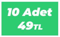 10 Adet 49 TL