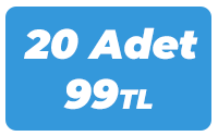20 Adet 99 TL